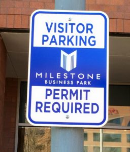 Informational Signs 5c2fb4c831e53 custom parking outdoor metal traffic sign safety wayfinding 256x300